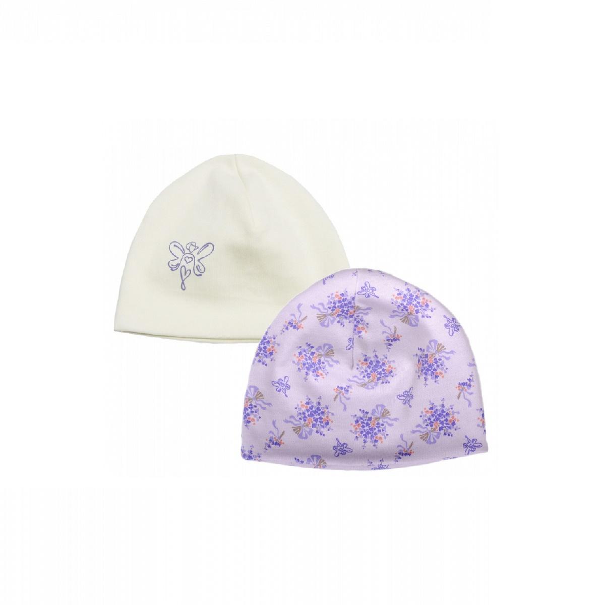 Комплект из 2-х шапок Мамуляндия Лаванда размер 48<br>