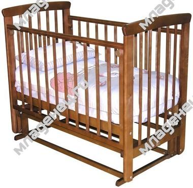 Кроватка Можга Марина С700 Красно коричневая