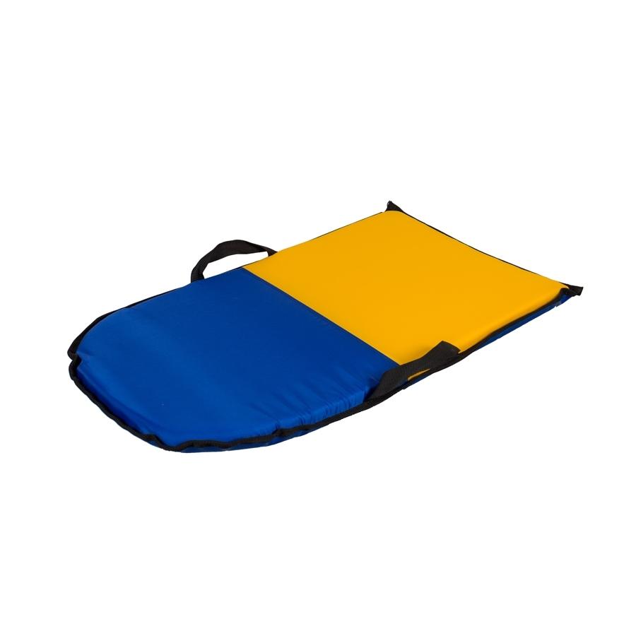 Санки-айсбот Метиз Средние Синие с желтым<br>