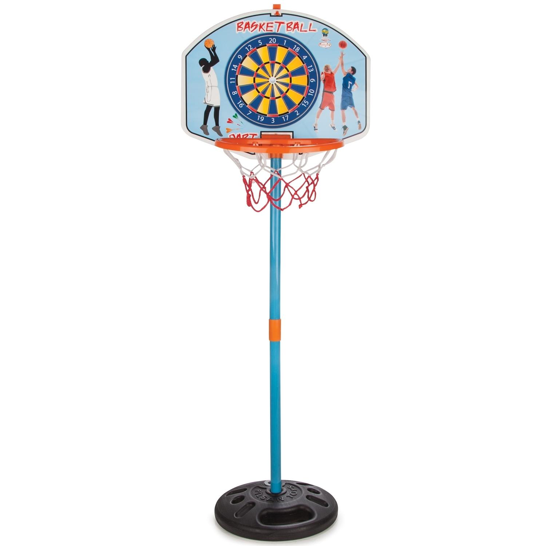 Баскетбольное кольцо Pilsan На стойке + дартс<br>