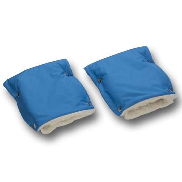 Муфты-рукавички Чудо-Чадо меховые Голубой<br>