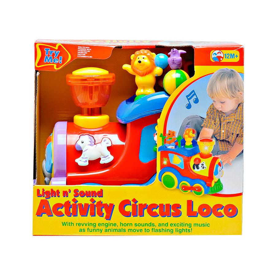Развивающая игрушка Kiddieland Цирковой поезд<br>