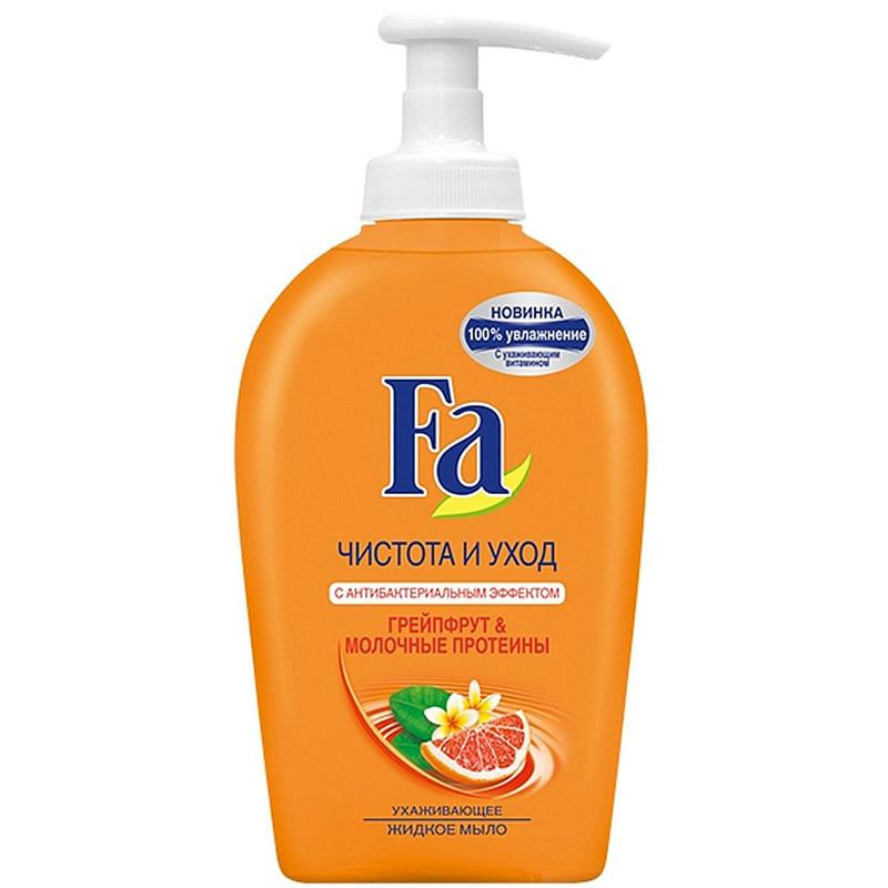 Мыло жидкое Fa грейпфрут и молочный протеин 250 мл<br>