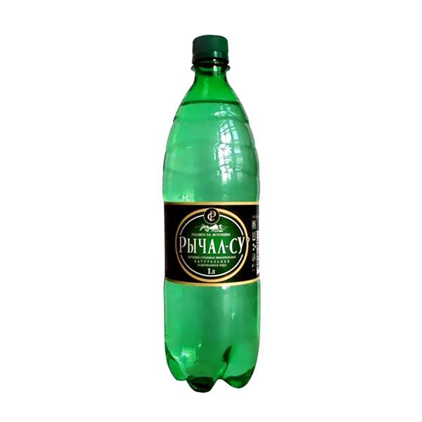 Вода минеральная Рычал-Су Газированная 1 л (пластик)<br>