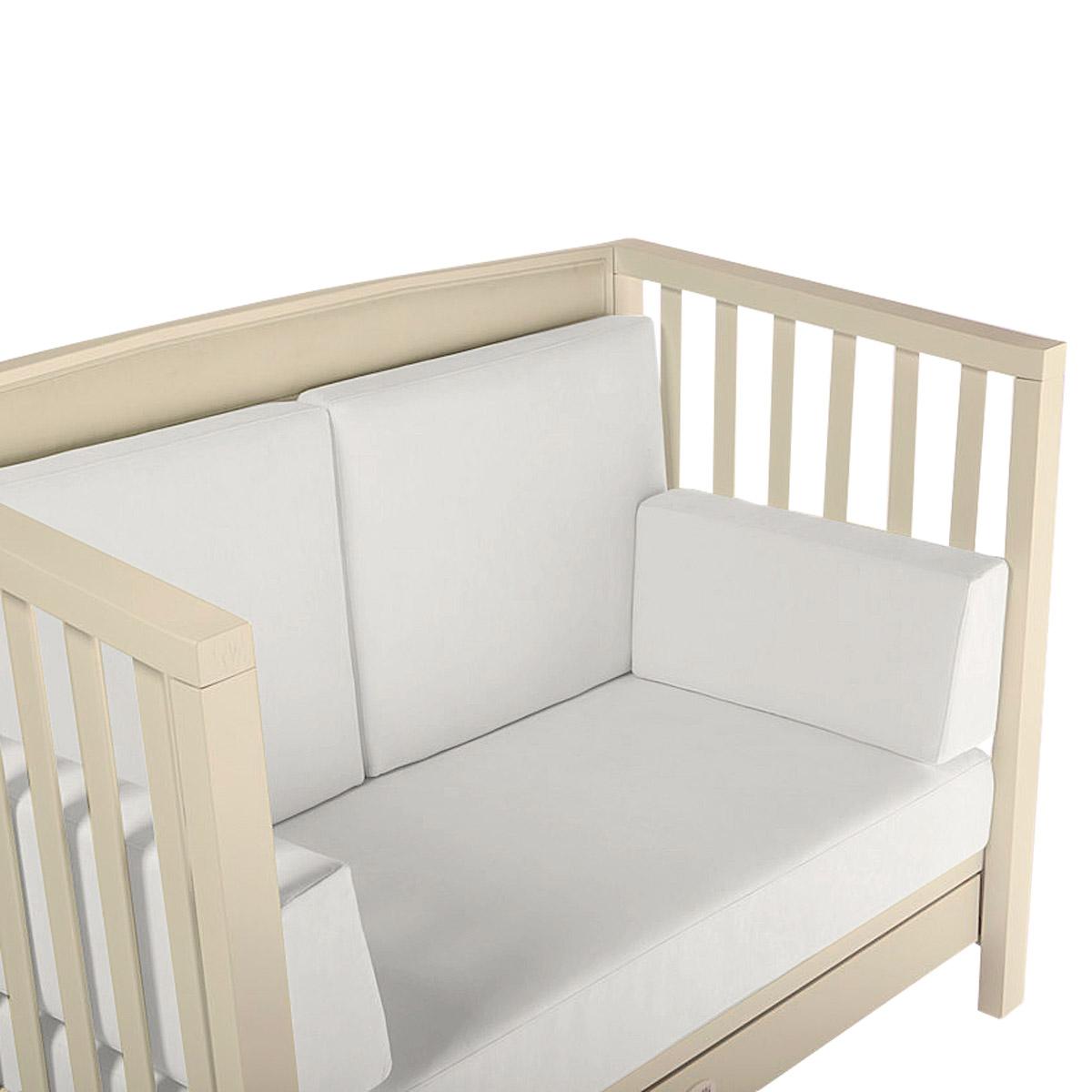 Кроватка-диван Feretti Vanity 125х65 Bianco<br>