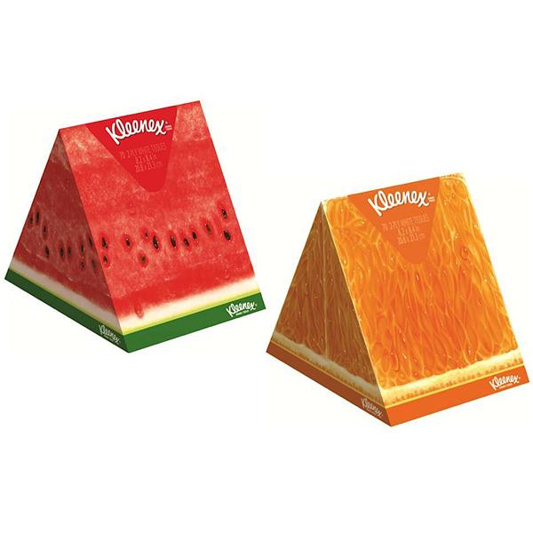 Бумажные салфетки Kleenex АROMA с фрутовым запахом 3-х слойные 56 шт от Младенец.ru