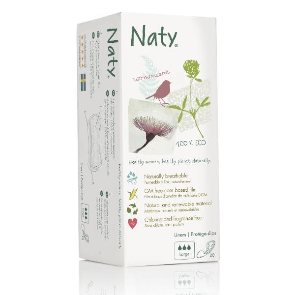 Ежедневные прокладки Naty Большие 28 шт<br>