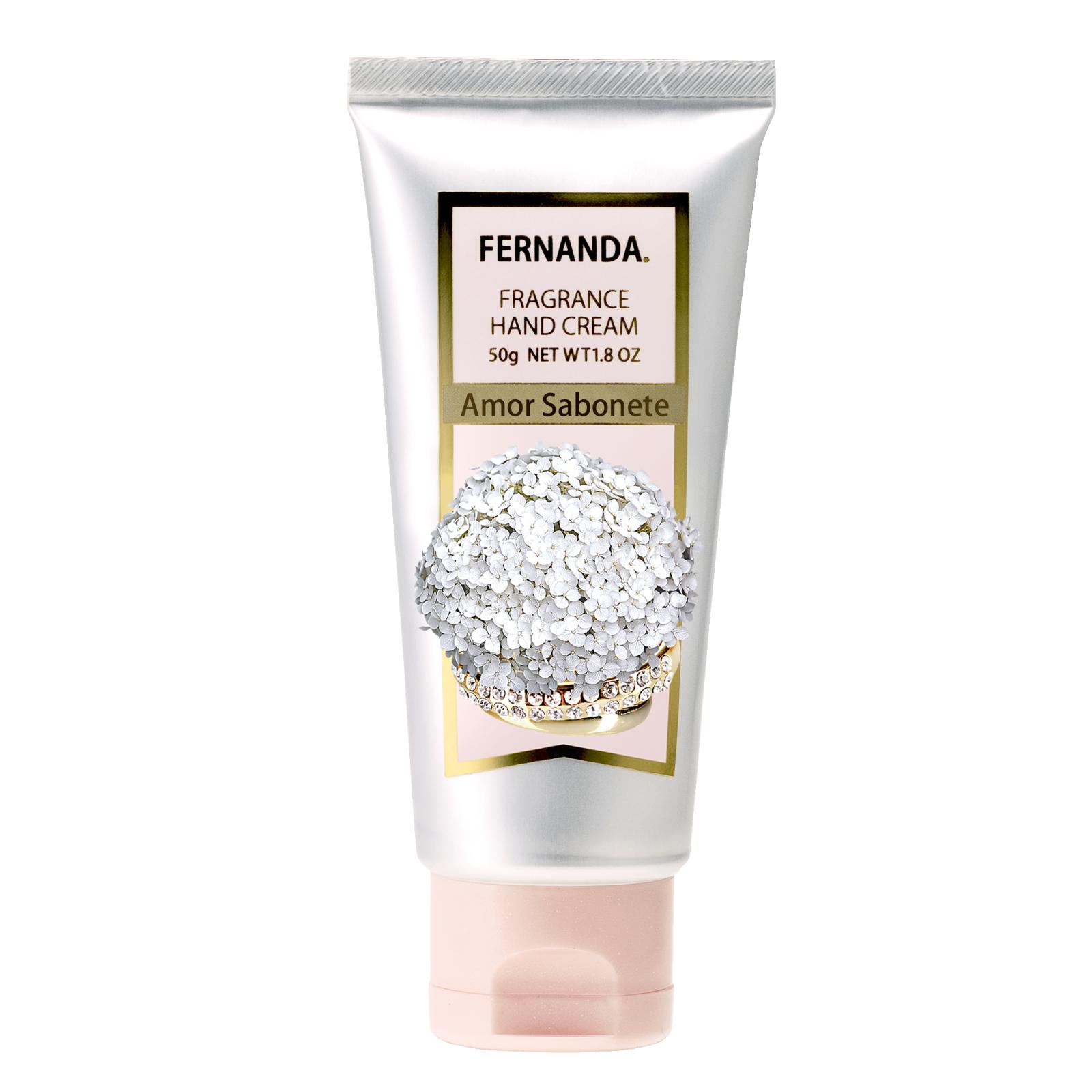 Крем для рук Fernanda Амор Сабонет (парфюмированный) 50 гр<br>