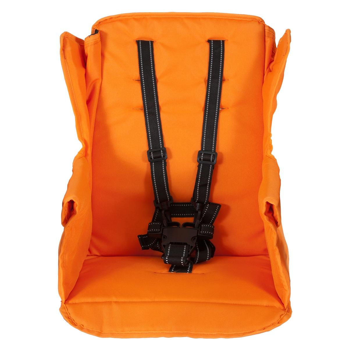 Второе сидение Joovy Caboose Too Seat для колясок Caboose, Caboose Ultralight и Big Caboose Оранжевое