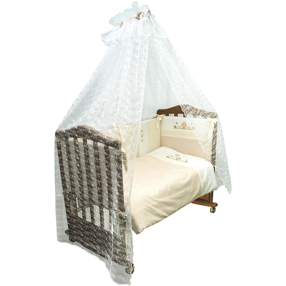 Комплект в кроватку Сонный гномик Кантри Бежевый<br>