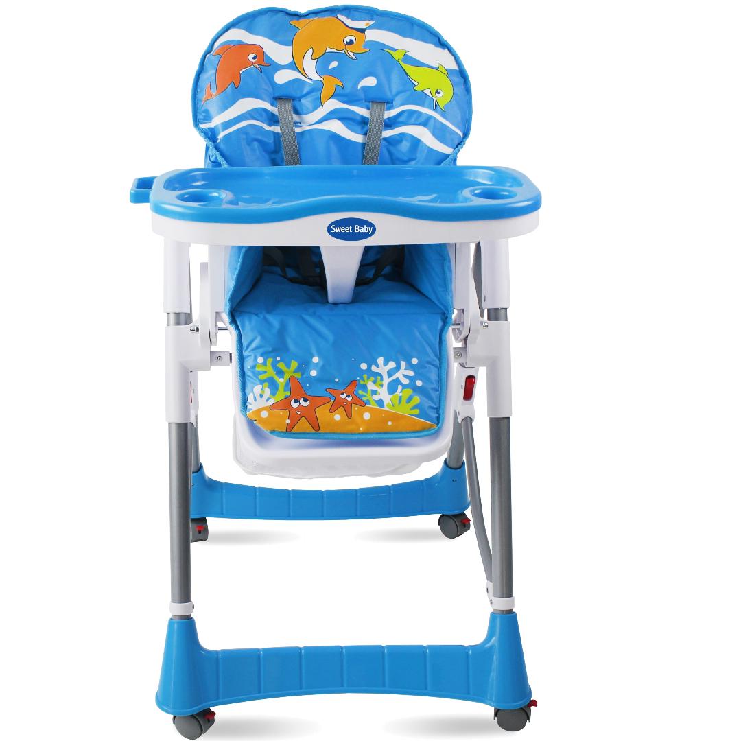 Стульчик для кормления Sweet Baby Sea World Aqua<br>