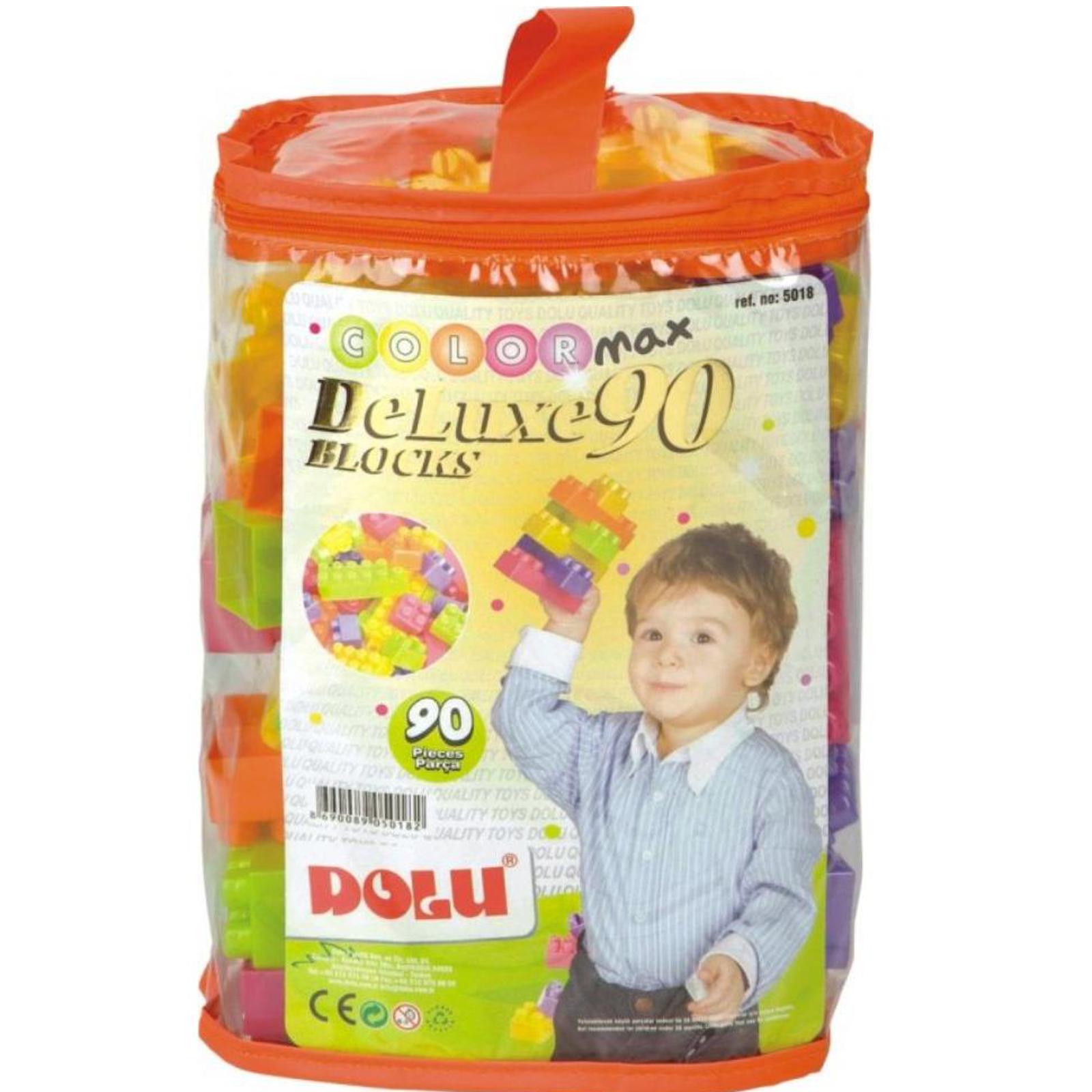 Конструктор Dolu 90 деталей от Младенец.ru