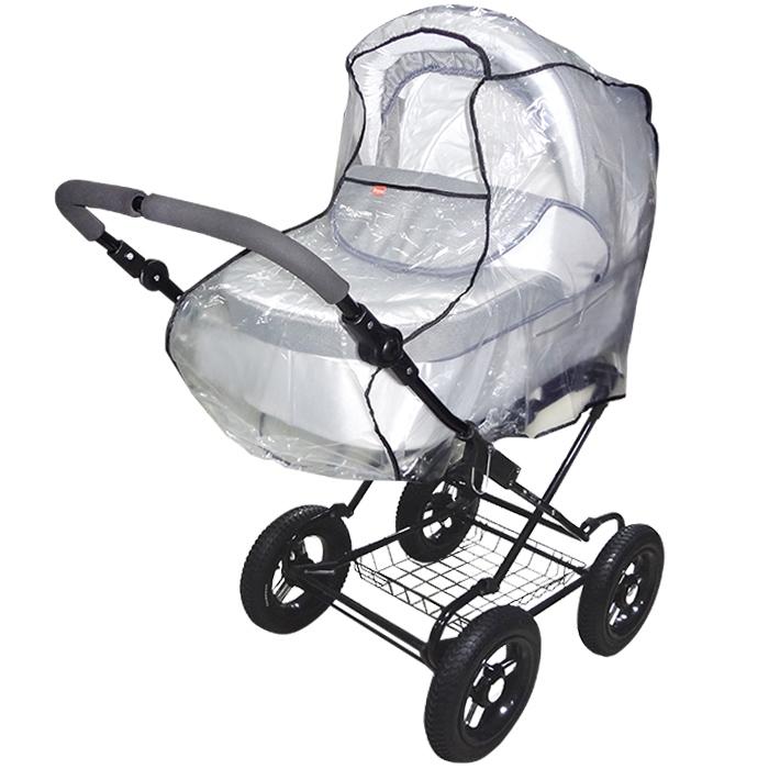 Дождевик Витоша для коляски-люльки и коляски-трансформер универсальный из П/Э<br>