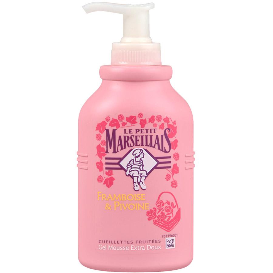 Жидкое мыло Le Petit Marseillais для рук 300мл Малина и Пион<br>