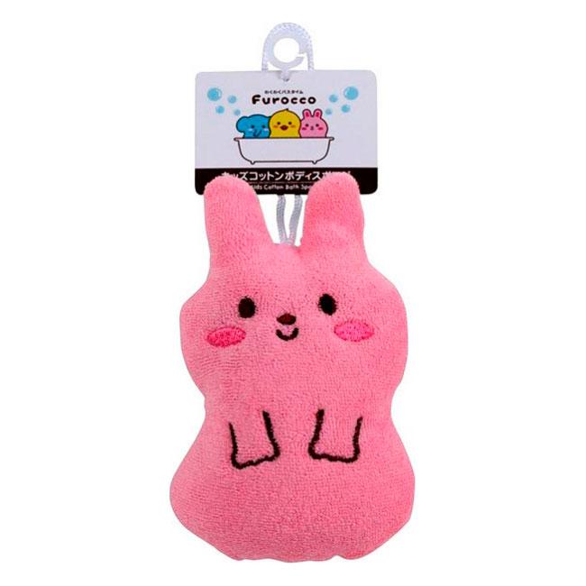 Мочалка-спонж Kokubо Furocco Розовый Кролик (Kokubo)