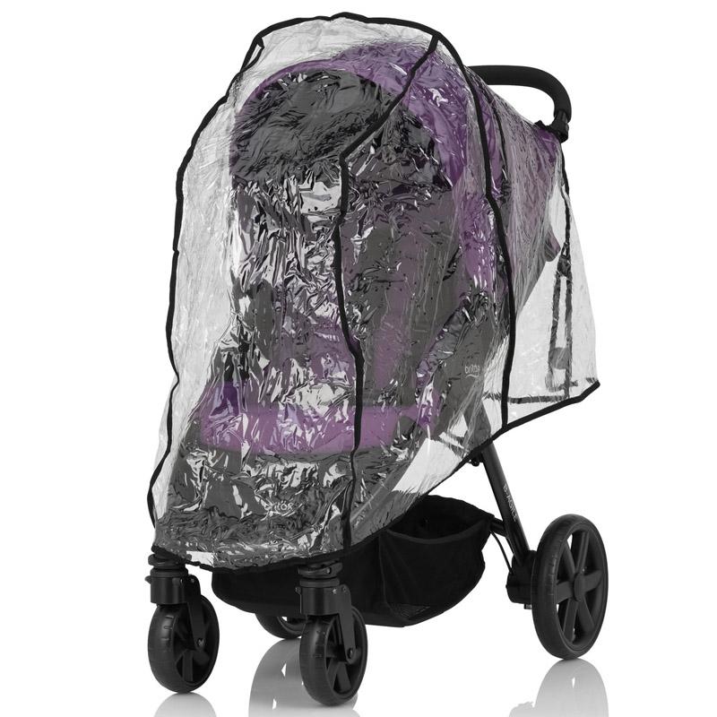Дождевик для детской  коляски Britax Roemer B-Agile/ B-Motion Black<br>