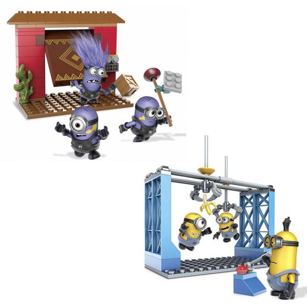 Игровой набор Mega Bloks Миньоны Базовые игровые наборы в ассортименте<br>