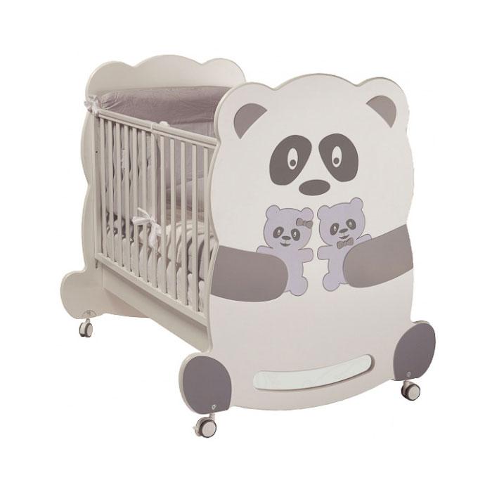 Кроватка Feretti Velvet 125х65 классика Panda<br>