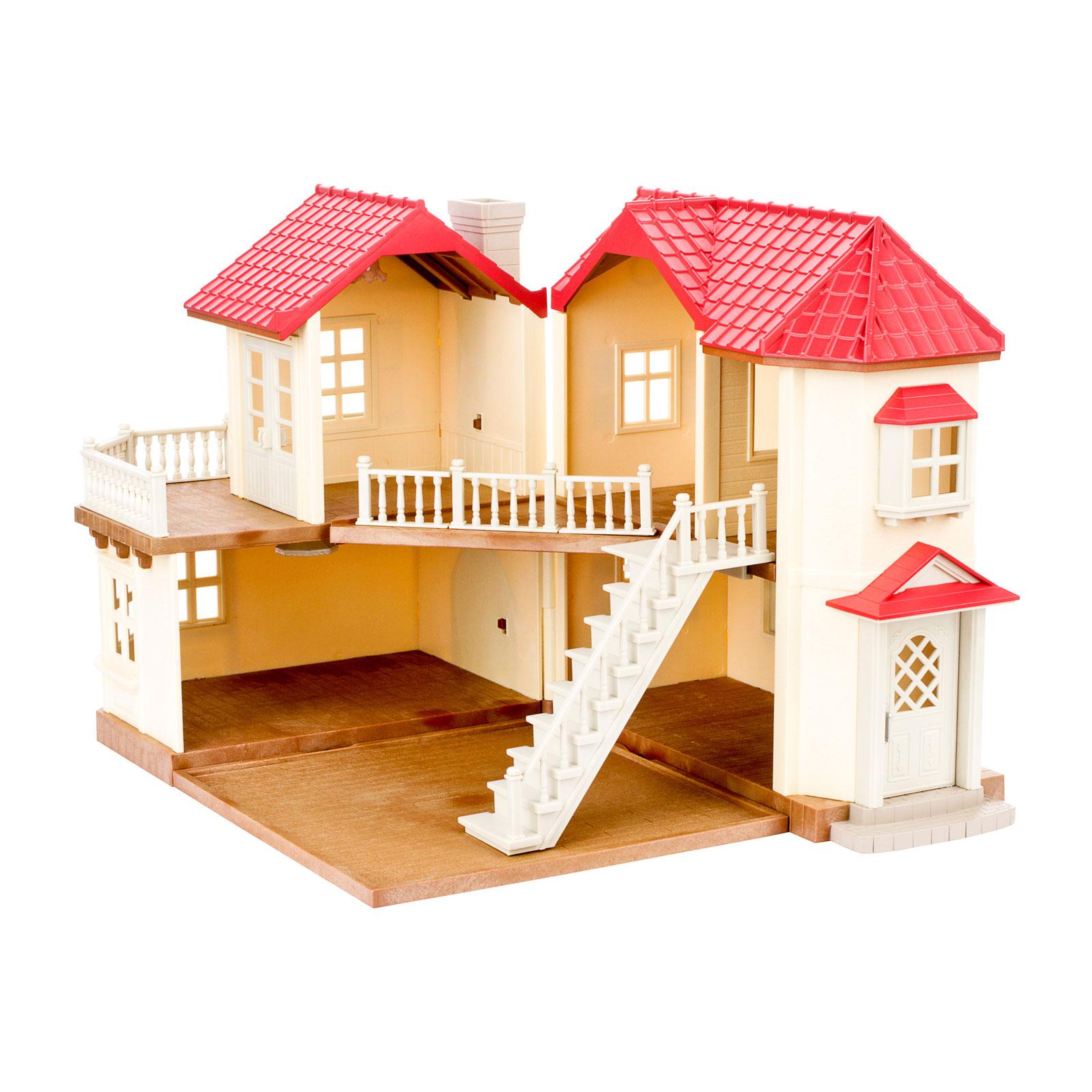 Игровой набор Sylvanian Families Большой дом со светом<br>