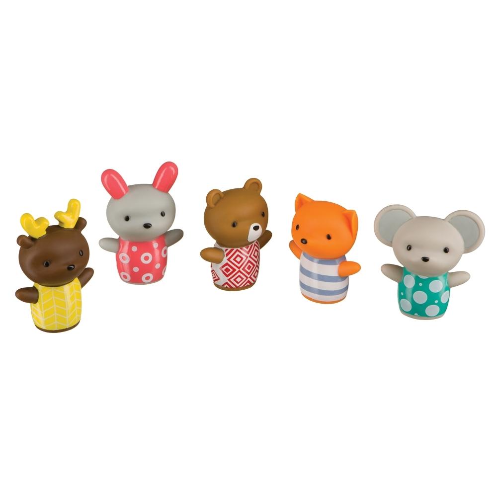 Набор игрушек Happy Baby для ванны LITTLE FRIENDS<br>