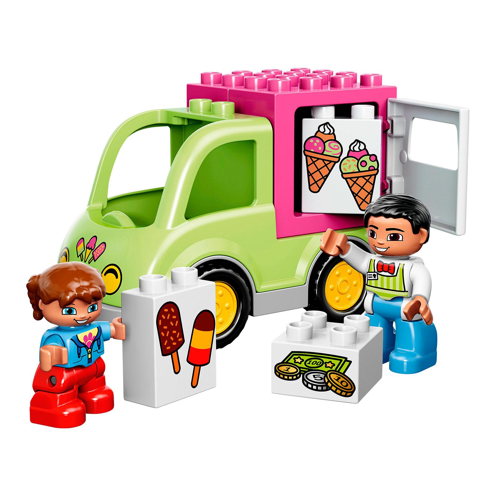 Конструктор LEGO Duplo 10586 Фургон с мороженым<br>
