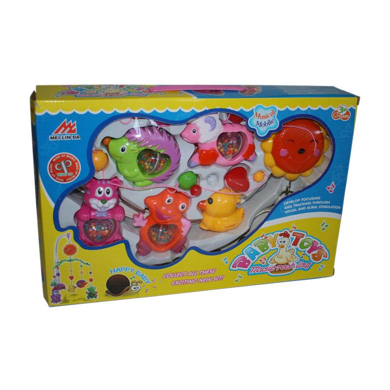 Погремушка Baby Toys Карусель на стойке 2953<br>