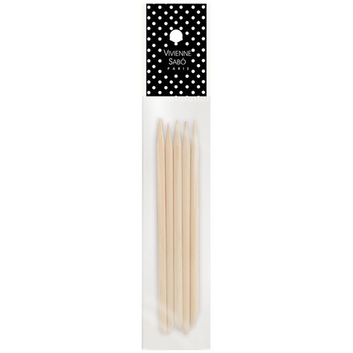 Палочки для маникюра Vivienne Sabo деревянные 5 шт<br>