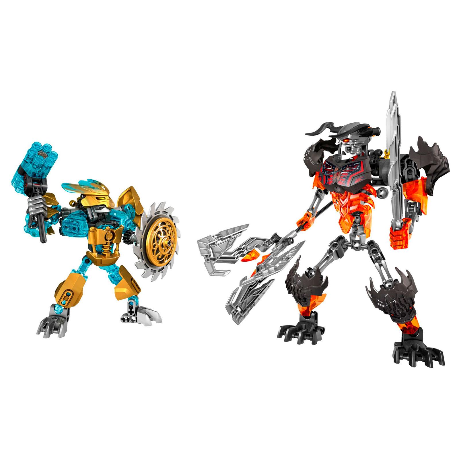 Конструктор LEGO Ninjago Биониклы Создатель Масок против Стального Черепа<br>