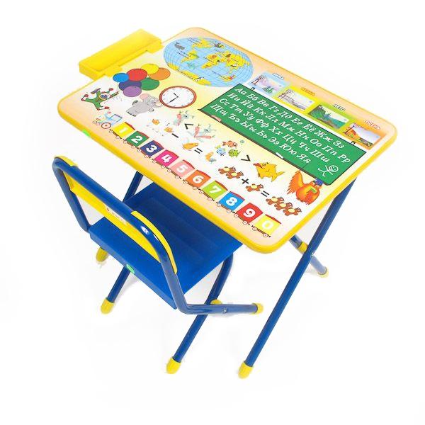Набор мебели стол и стул Дэми №1 Синий Глобус<br>