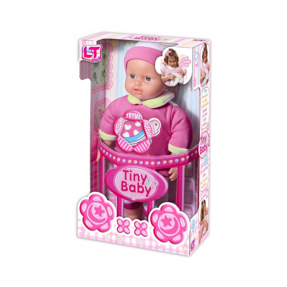 Кукла LOKO TOYS Tiny Baby плачет<br>