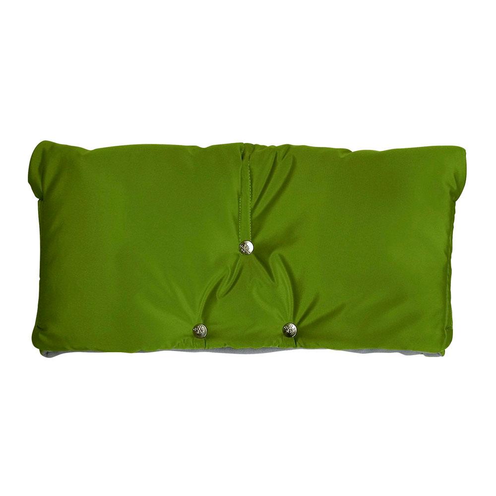Муфта для коляски Чудо-Чадо флисовая (на липучке) Зеленый<br>