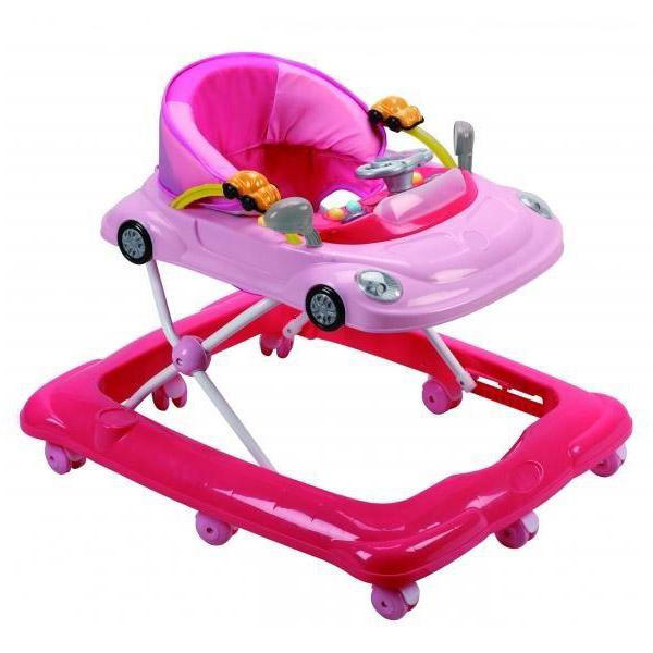Ходунки Felice Автомобиль Розовый<br>