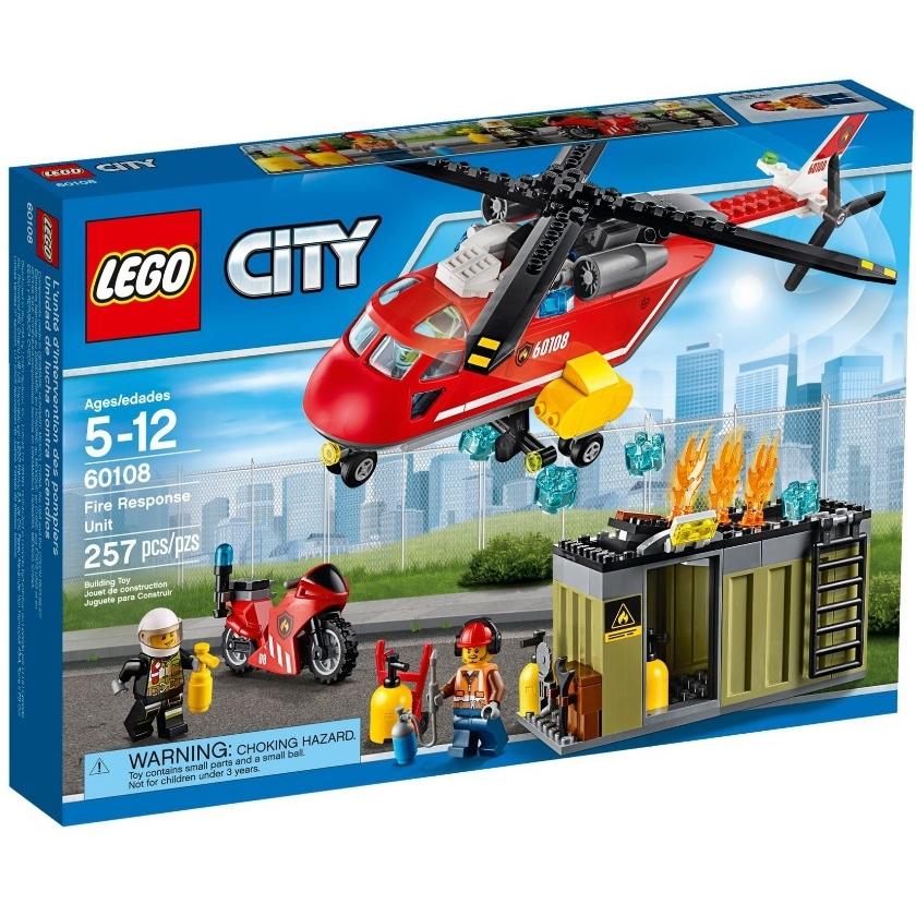 ����������� LEGO City 60108 �������� ������� �������� ������������