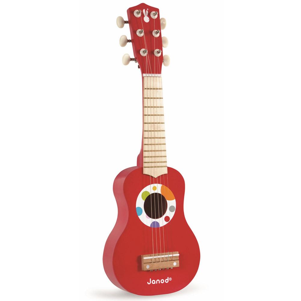 Игрушка Janod Гитара красная<br>