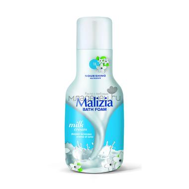 Пена Malizia для душа и ванны 1000 мл Молоко Milk