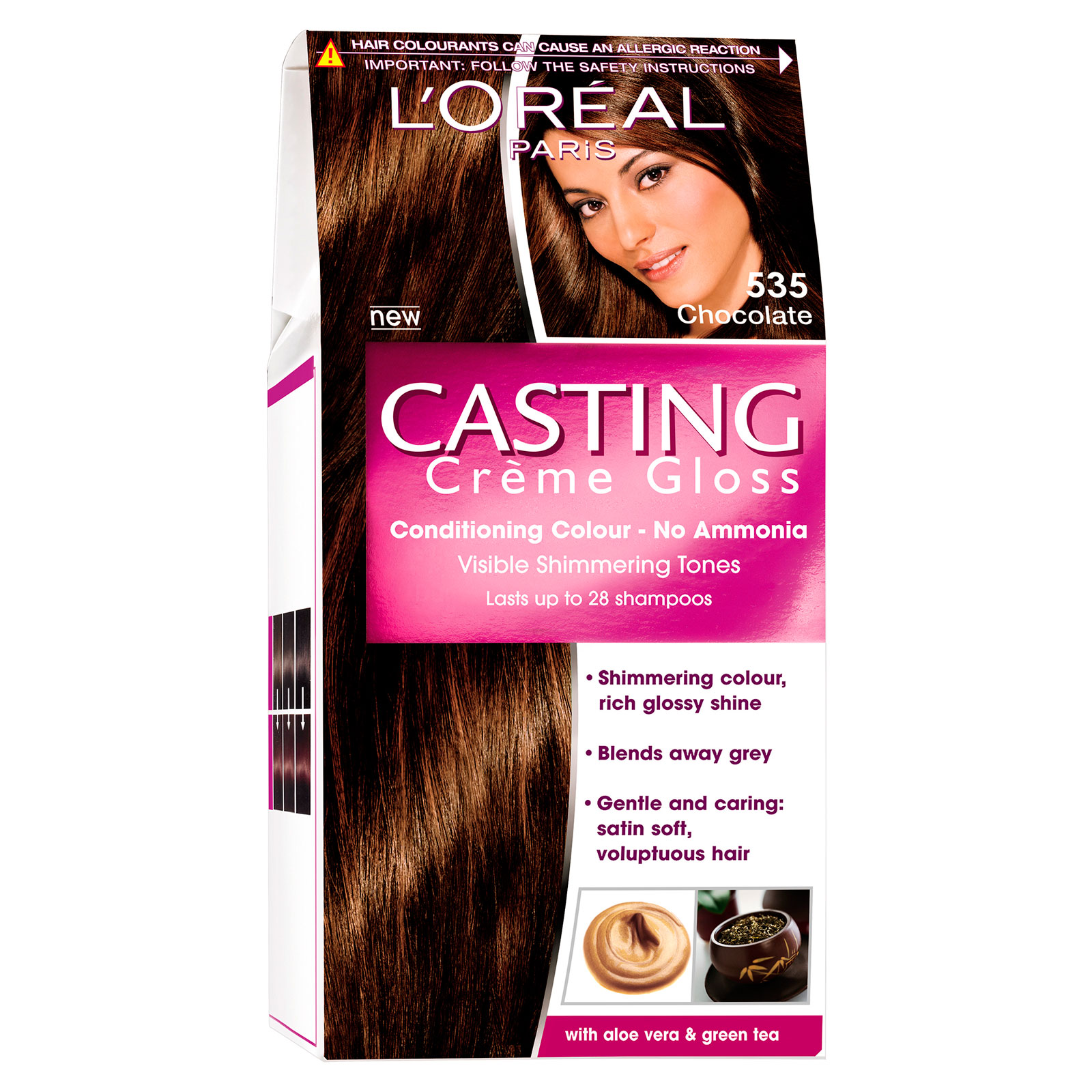 ����-������ ��� ����� Loreal �asting Creme Gloss ������� (��� 535)