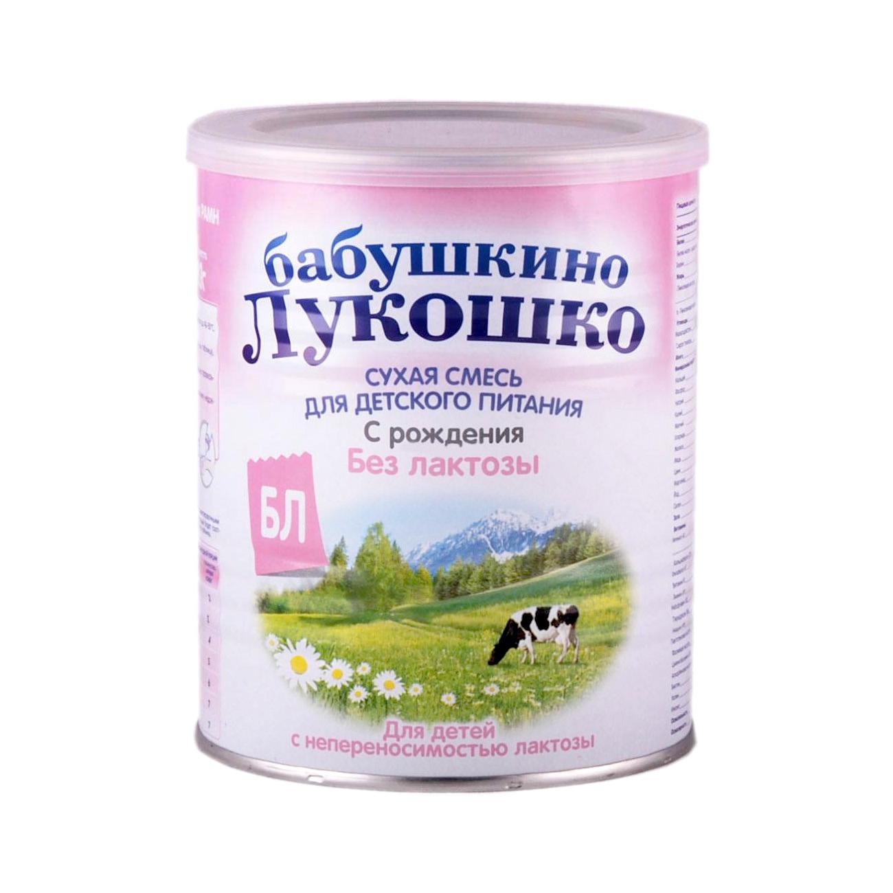 Заменитель Бабушкино лукошко Безлактозная 400 гр с 0 мес от Младенец.ru