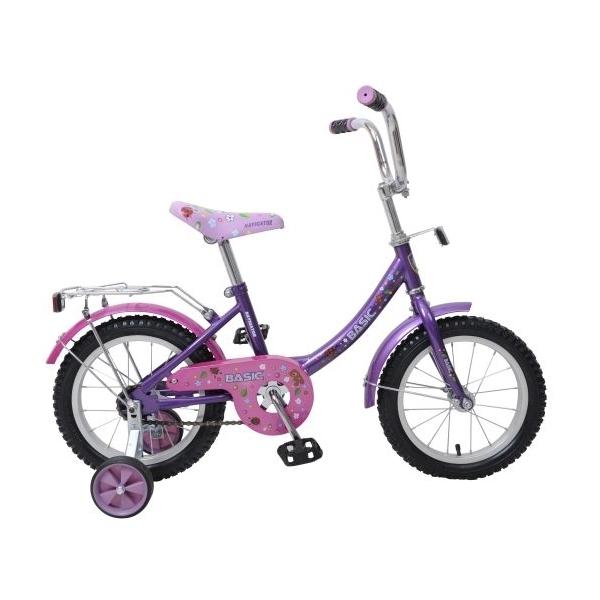 Велосипед Navigator 14 Basic Розовый с фиолетовым<br>