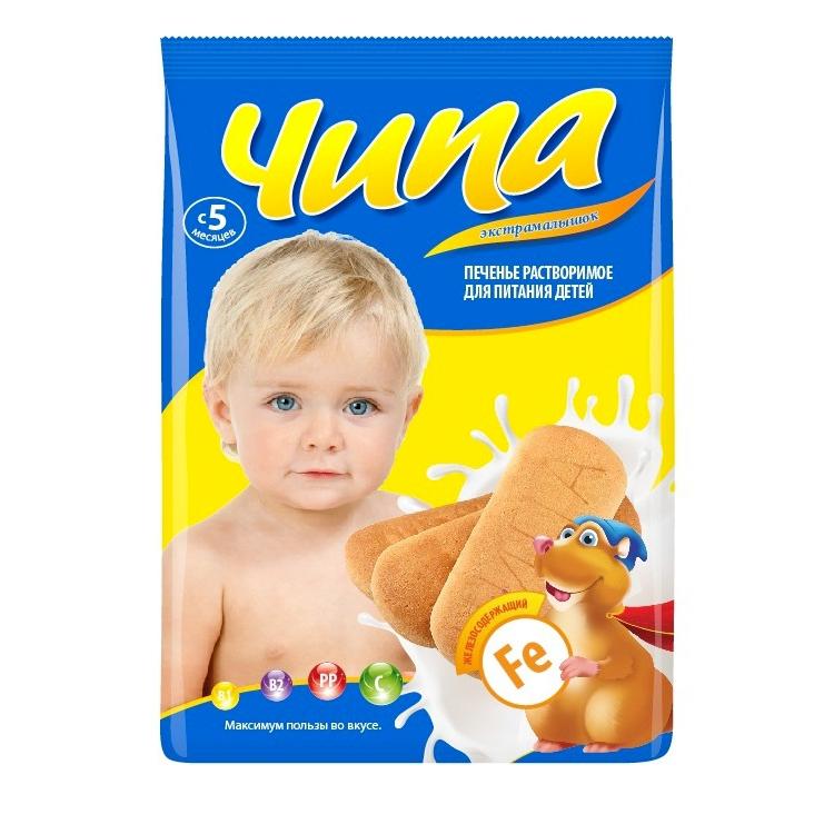 Печенье Экстра Малышок с 5 мес 180 гр С железом<br>