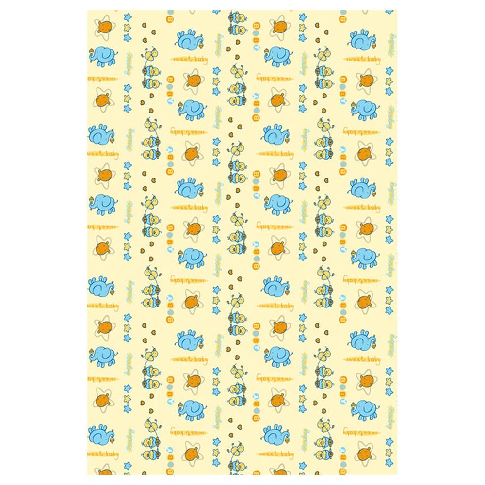 Одеяло Baby Nice байковое 100% хлопок 85х115 Цыпленок Бежевый<br>