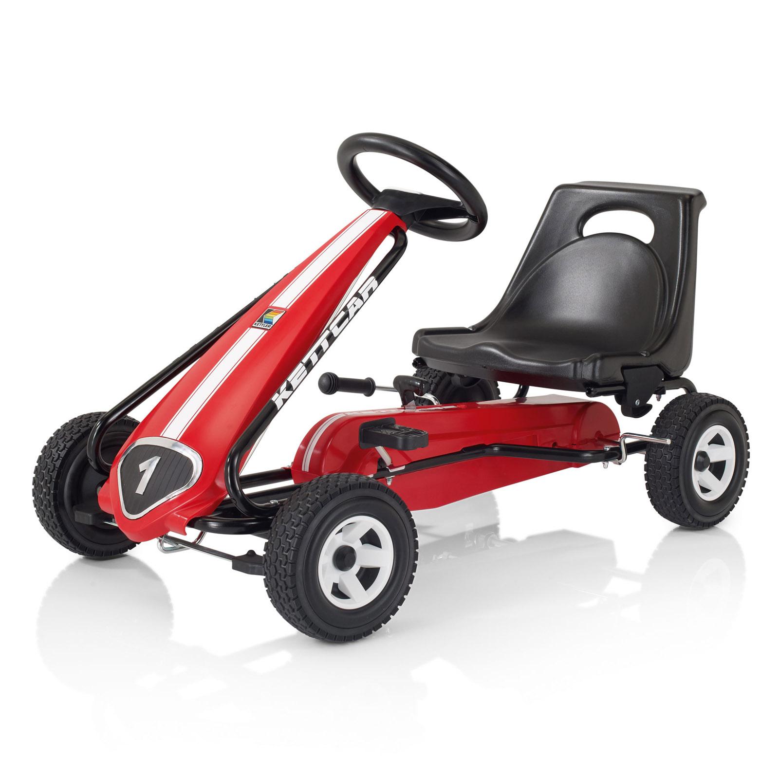 Педальная машина Kettler Кетткар Melbourne Красная<br>