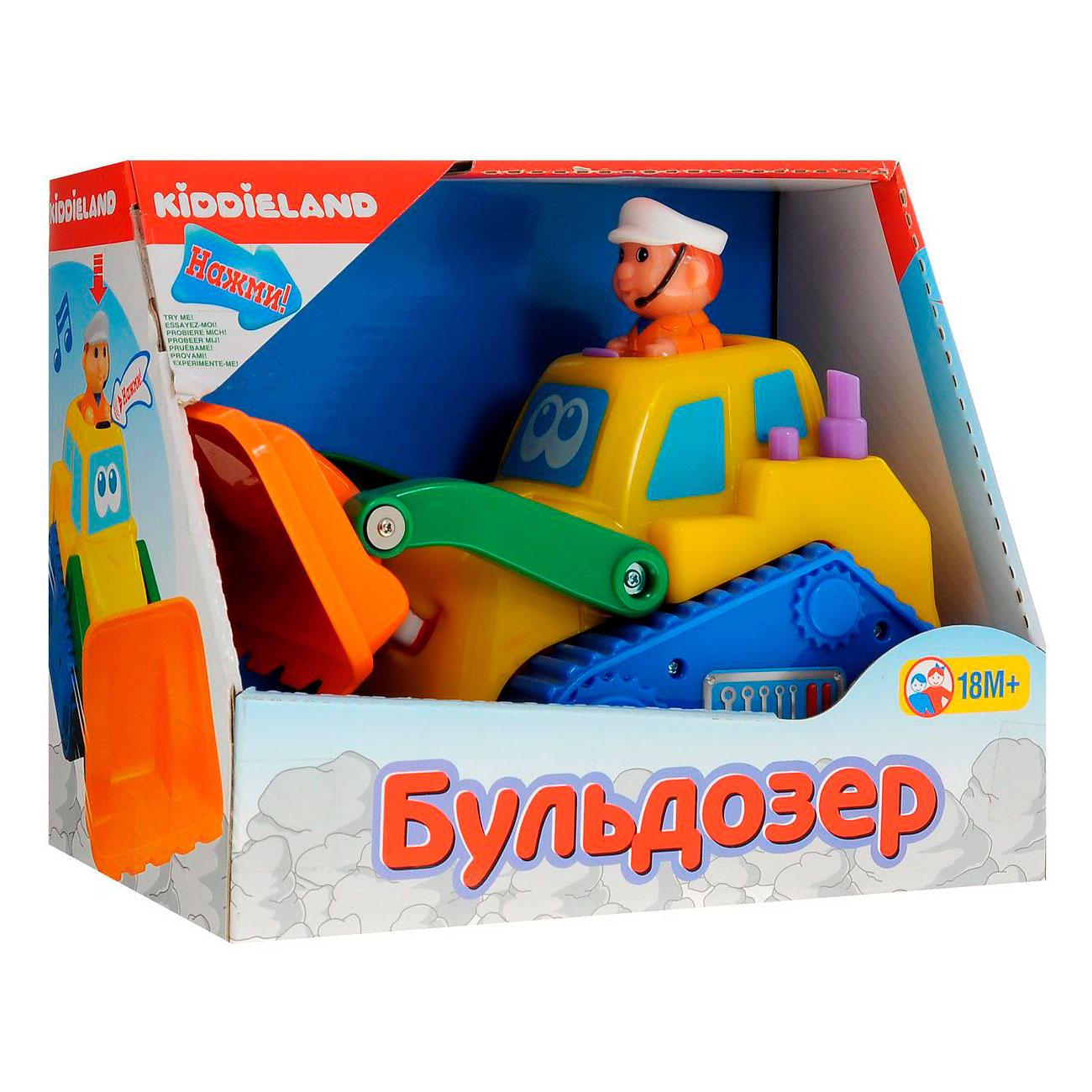 Развивающая игрушка Kiddieland Бульдозер<br>