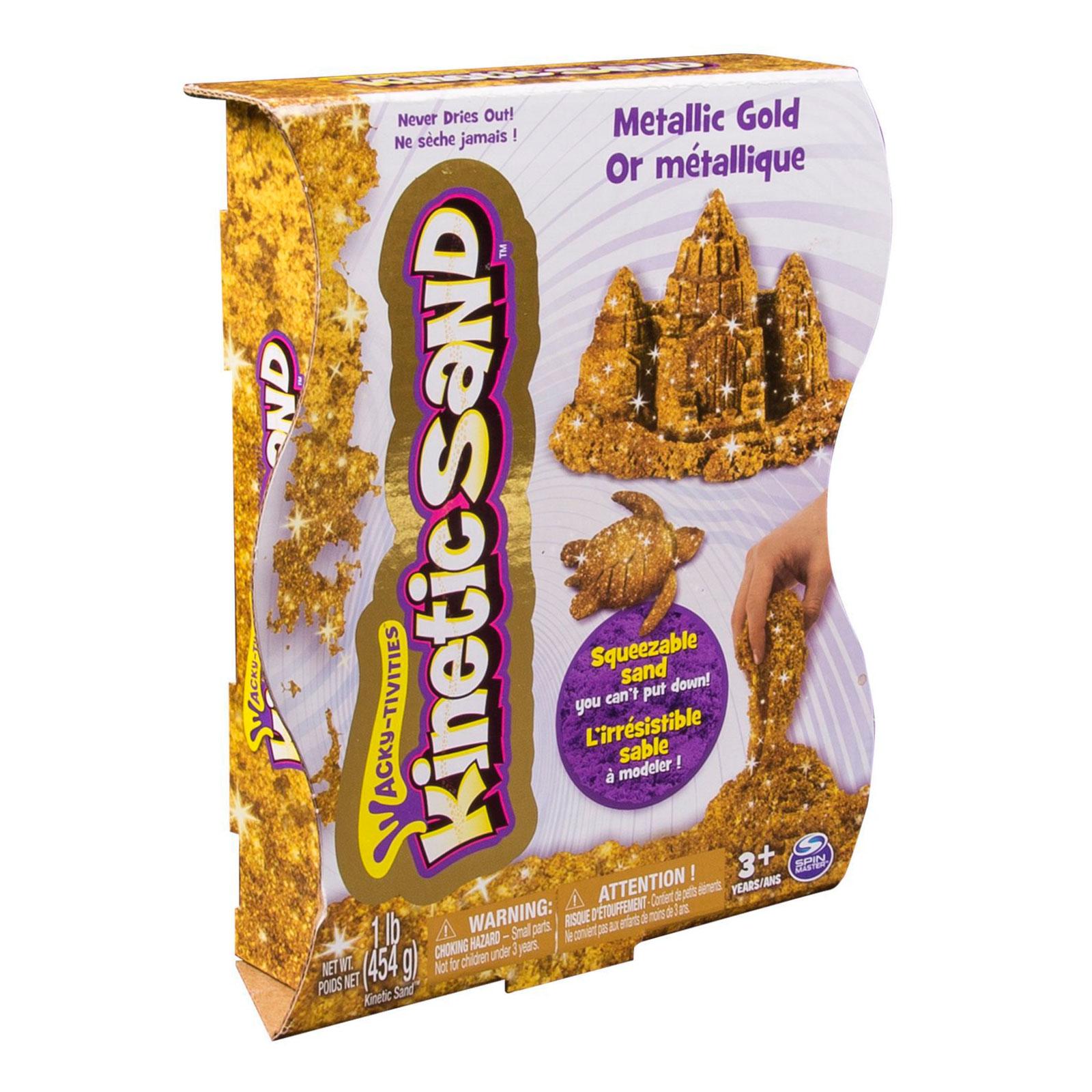 Кинетический песок Kinetic sand Золотой<br>