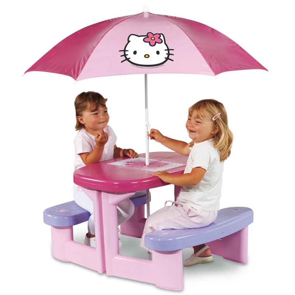 Столик для пикника Smoby Hello Kitty 310164 от Младенец.ru