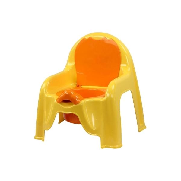 Горшок-стульчик Пластик Цвет - св.желтый 1328М<br>