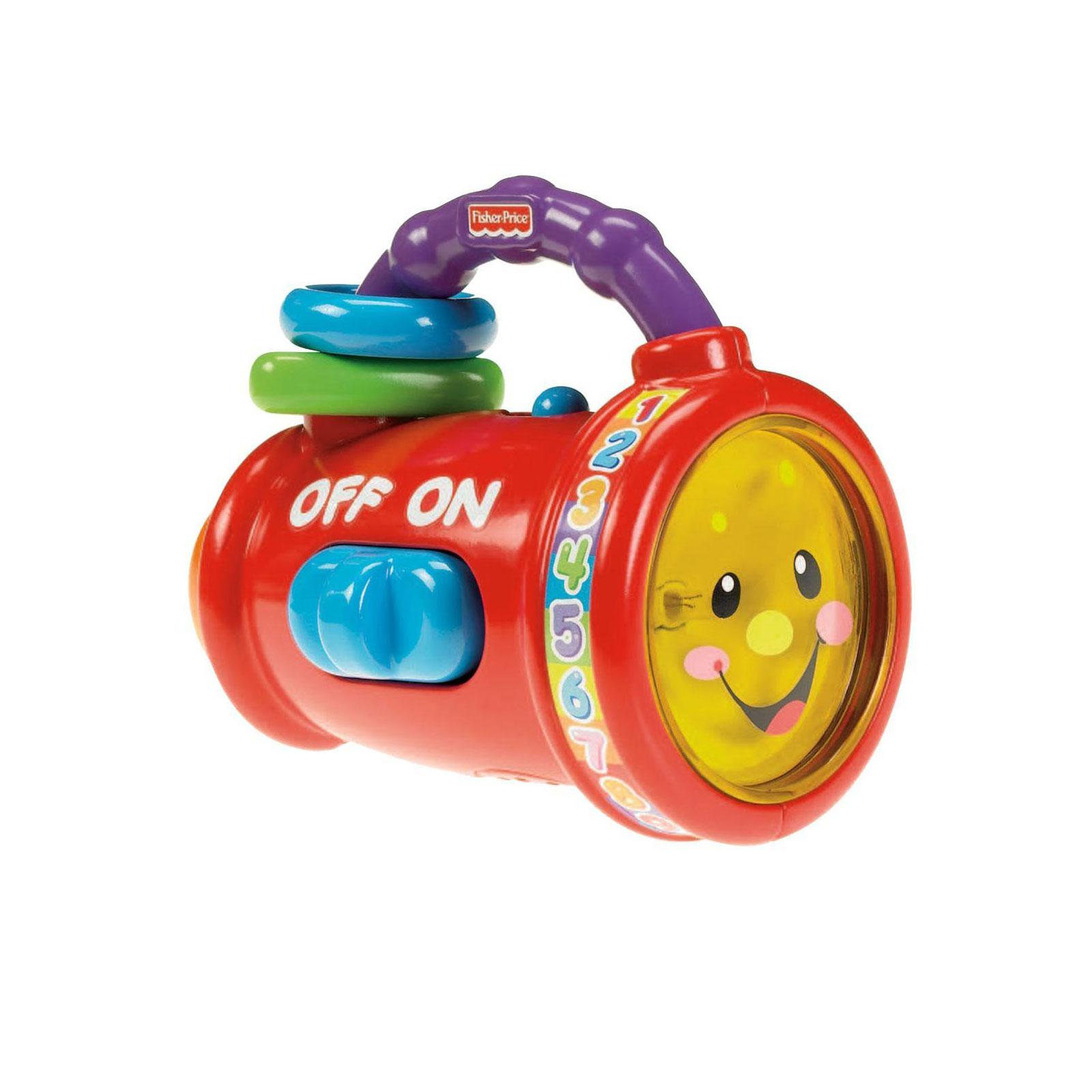 Развивающая игрушка Fisher Price Обучающий фонарик Поем и учимся с 6 мес.<br>