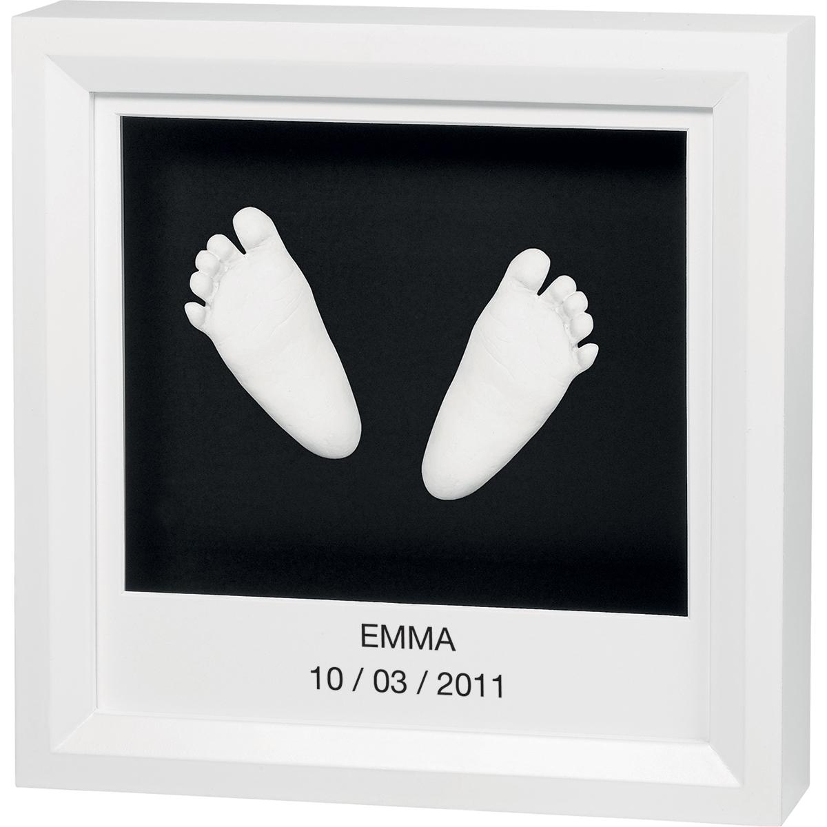 Рамочка Baby Art Sculpture Frame Белая с черным<br>