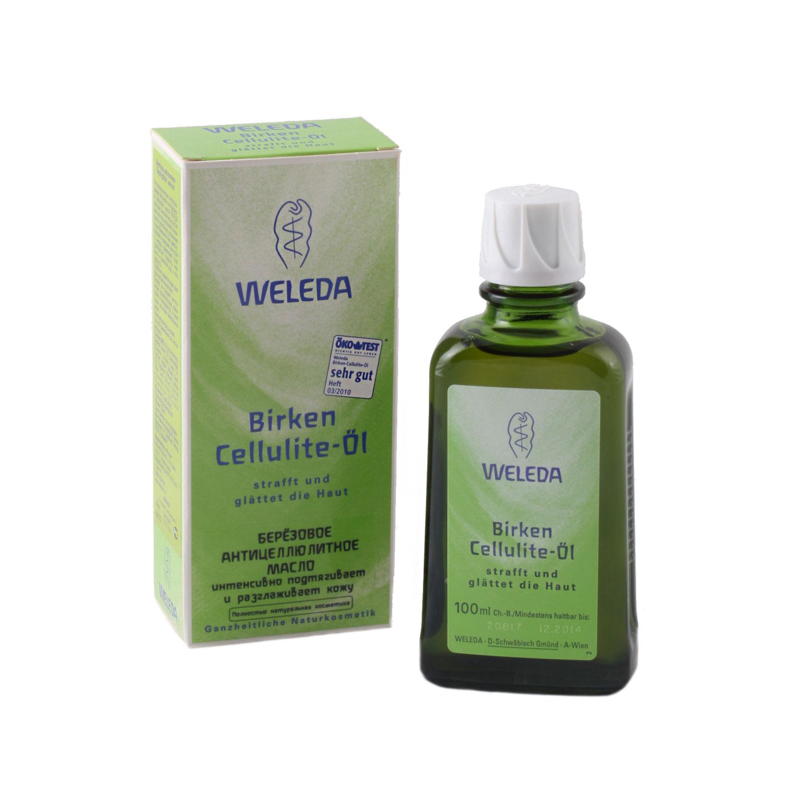 Масло Weleda березовое антицеллюлитное 100 мл<br>