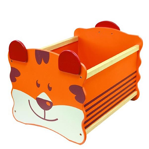 Ящик для игрушек I`m Toy Тигр оранжевый<br>