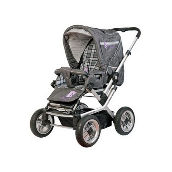 Коляска-трансформер Baby Care Manhattan 60 grey<br>